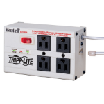 "Tripp Lite ISOTEL4ULTRA surge protector 4 AC outlet(s) 120 V White 70.9"" (1.8 m)"