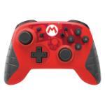 Hori NSW-233U Gaming Controller Black, Red Bluetooth Gamepad Analogue Nintendo Switch