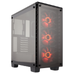 Corsair Crystal 460X Midi-Tower Black computer case