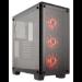 Corsair Crystal 460X Midi-Tower Black computer case