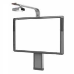 Promethean Upgrade - ActivBoard Height Adjustable Wall Mount Stand + PRM-35 Short Throw Projector - Board Not Included