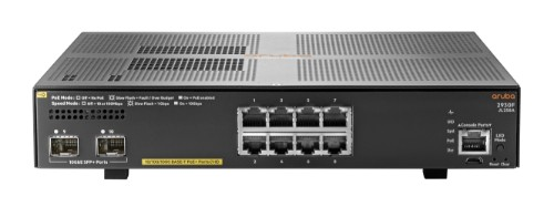 Hewlett Packard Enterprise Aruba 2930F 8G PoE+ 2SFP+ Managed L3 Gigabit Ethernet (10/100/1000) Grey 1U Power over Ethernet (PoE)