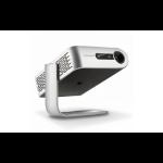 Viewsonic M1 Desktop projector 250ANSI lumens DLP WVGA (854x480) Silver data projector