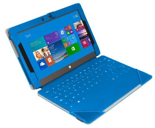 Urban Factory Elegant Folio Case for Microsoft Surface 2, Blue