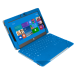 Urban Factory Elegant Folio Case for Microsoft Surface 2, Blue