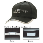 Natural Point SmartNav Tracking Hat. A baseball type cap with reflective panels on front and back for use with the