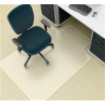 MARBIG CHAIRMAT DELUXE SMALL WITH KEYHOLE 910 X 1210MM