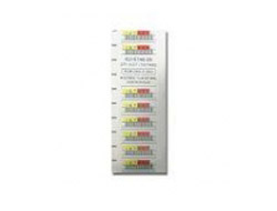 Quantum 3-05400-10 barcode label White