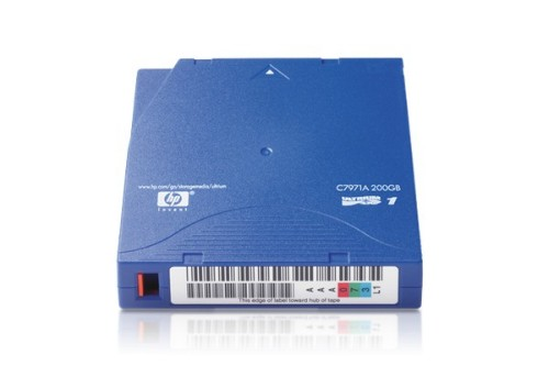 Hewlett Packard Enterprise C7971A blank data tape LTO 100 GB 1.27 cm