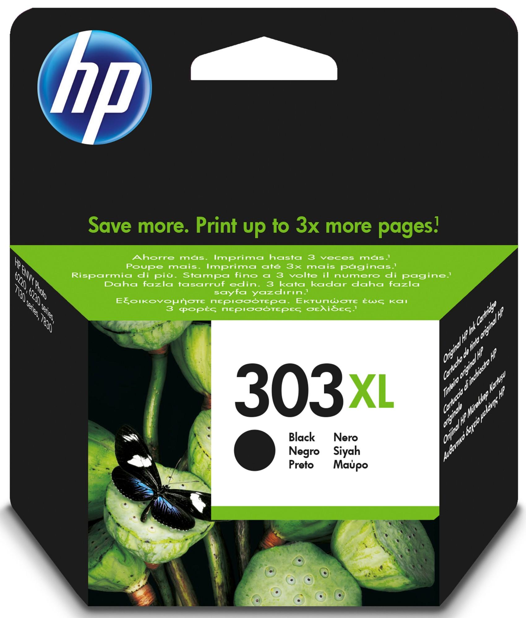 HP 303XL Origineel Foto zwart 1 stuk(s)