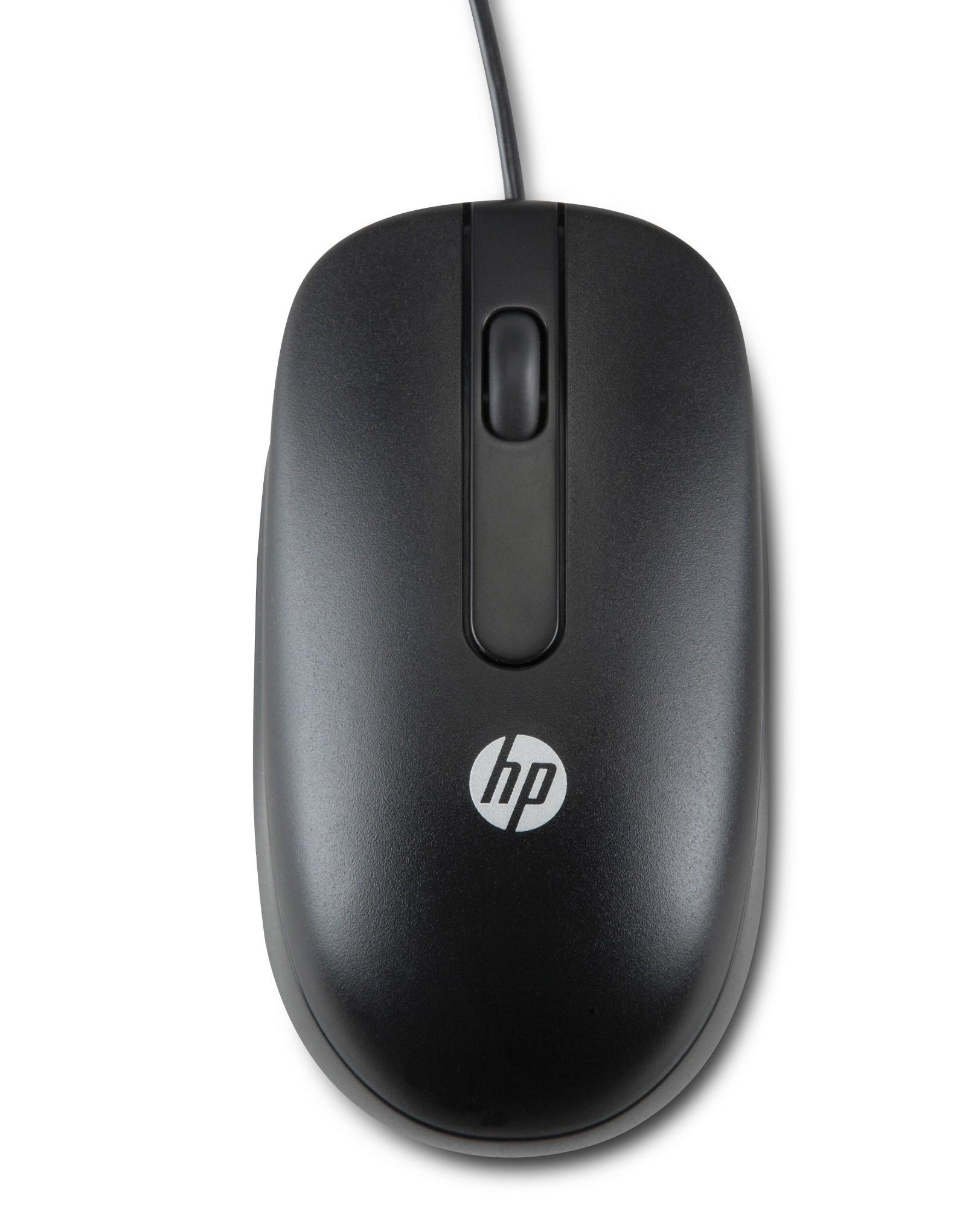 HP USB lasermuis, 1000 dpi
