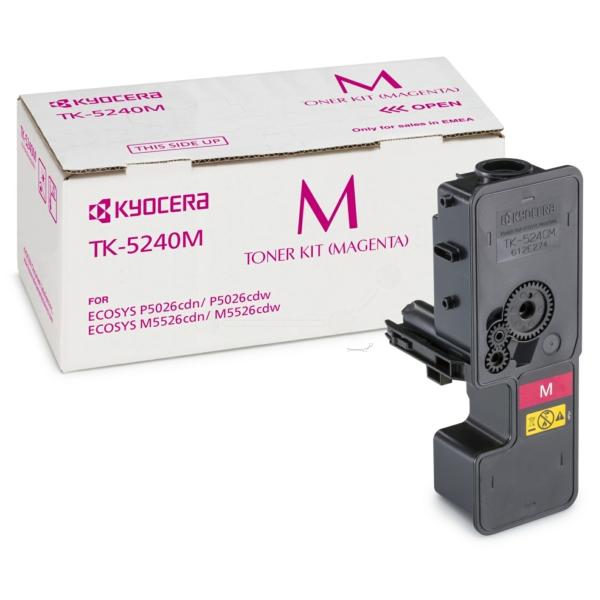 KYOCERA 1T02R7BNL0 (TK-5240 M) Toner magenta, 3K pages