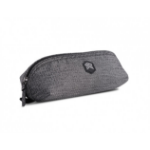 STM Must Stash Grey Polyester Unisex Baguette bag