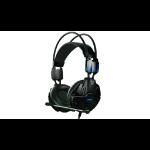 E-blue Cobra EHS902 Binaural Head-band Black headset