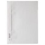 Durable 2573-02 Polypropylene (PP) Transparent,White folder