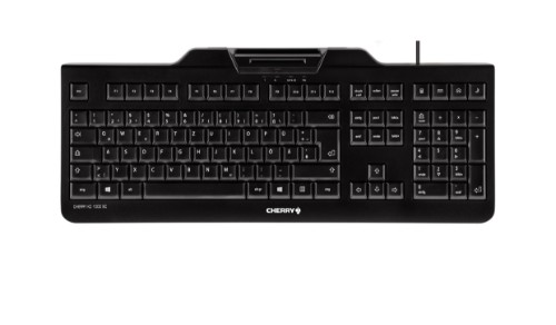 CHERRY KC 1000 SC USB QWERTY US English Black