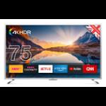 "Cello C75SFS4K TV 190.5 cm (75"") 4K Ultra HD Smart TV Wi-Fi Silver"