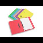 Rexel Jiffex Foolscap Transfer File Yellow (50)