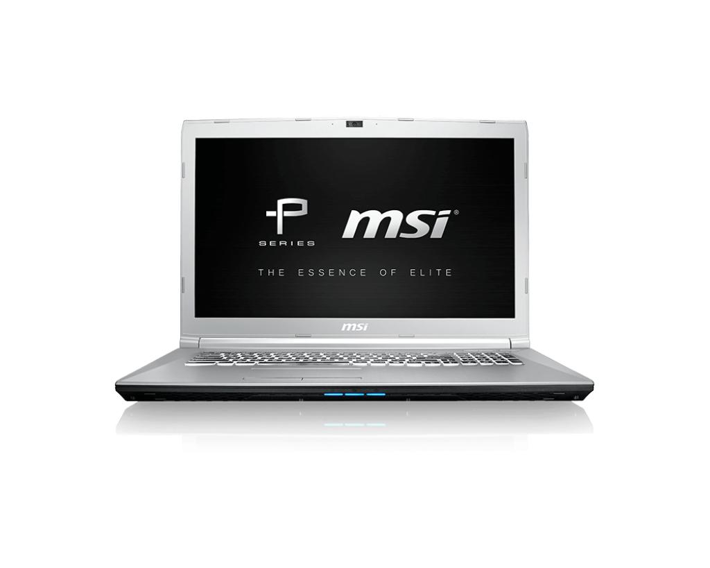 """MSI Prestige PE72 8RD-020UK Silver Notebook 43.9 cm (17.3"""") 1920 x 1080 pixels 8th gen Intel® Core�"""
