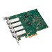 Intel Ethernet Server Adapter I340-F4 - Network adapter - PCIe 2.0 x4 - 1000Base-SX x 4