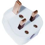 Cablenet UK Mains Plug 13Amp White (BS1363)