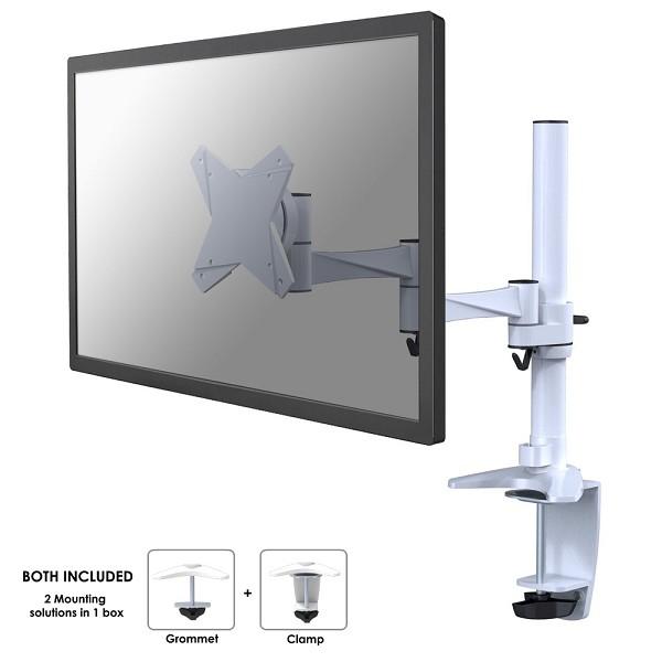 Newstar FPMA-D1330WHITE flat panel desk mount
