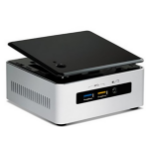 Intel NUC5i3RYH BGA1168 2.1GHz i3-5010U Black,Stainless steel