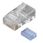 Black Box FMTP6-R2-50PAK wire connector RJ-45 Transparent
