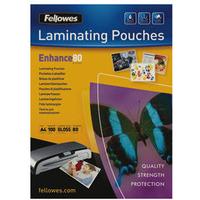 Fellowes 5306101 laminator pouch 100, 1