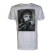 CHUCK NORRIS Men's Selfie with Moustache Finger T-Shirt, Extra Large, White (TS208002CNO-XL)