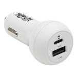 Tripp Lite U280-C02-30W-K mobile device charger White Auto
