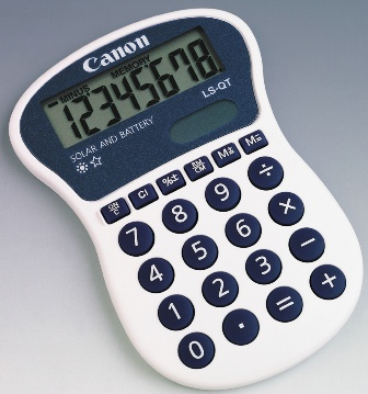 Canon LSQTBL 8 DIGIT EXTRA LARGE KEYS AND LCD