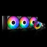 DeepCool Castle 360 RGB V2 computer liquid cooling Motherboard