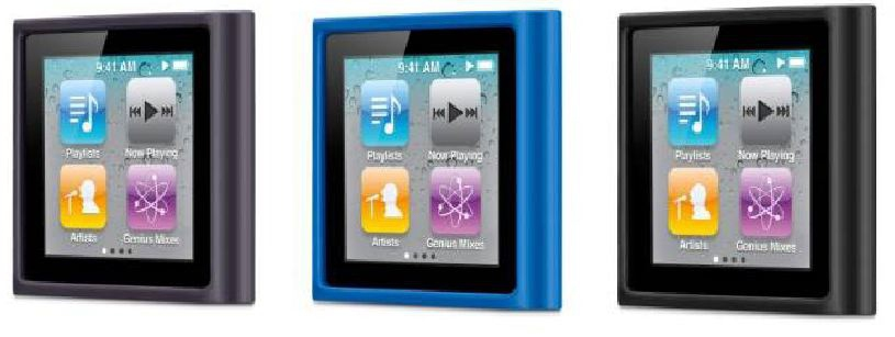 Belkin Grip for iPod Vue 3 Pack (Black Carbon & Vivid Blue)