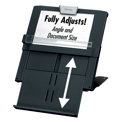 Fellowes 8039401 Black document holder