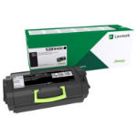 Lexmark 53B2H00 Toner black, 25K pages