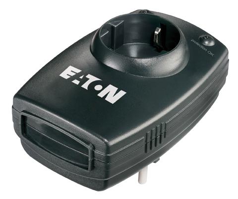Eaton Protection Box 1 DIN limitador de tensión 1 salidas AC 220-250 V Negro