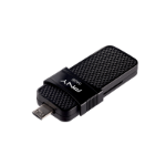 PNY P-FD64GOTGSLMB-GE USB flash drive 64 GB USB Type-A / Micro-USB 3.0 (3.1 Gen 1) Black