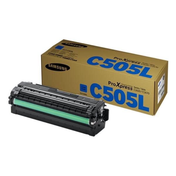 Samsung CLT-C505L/ELS (C505L) Toner cyan, 3.5K pages