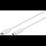 Microconnect USB3.1CAMIB1W USB cable 1 m USB C Micro-USB B White