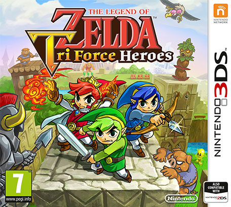 Nintendo The Legend of Zelda: Tri Force Heroes, 3DS