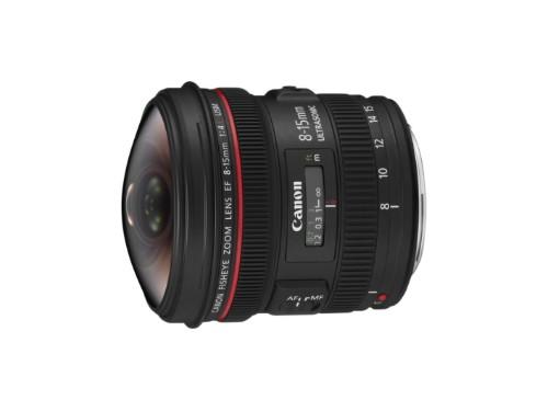 Canon EF 8-15mm f/4L Fisheye USM SLR Wide fish-eye lens Black