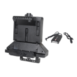 Gamber-Johnson 7170-0800 houder Actieve houder Tablet/UMPC Zwart