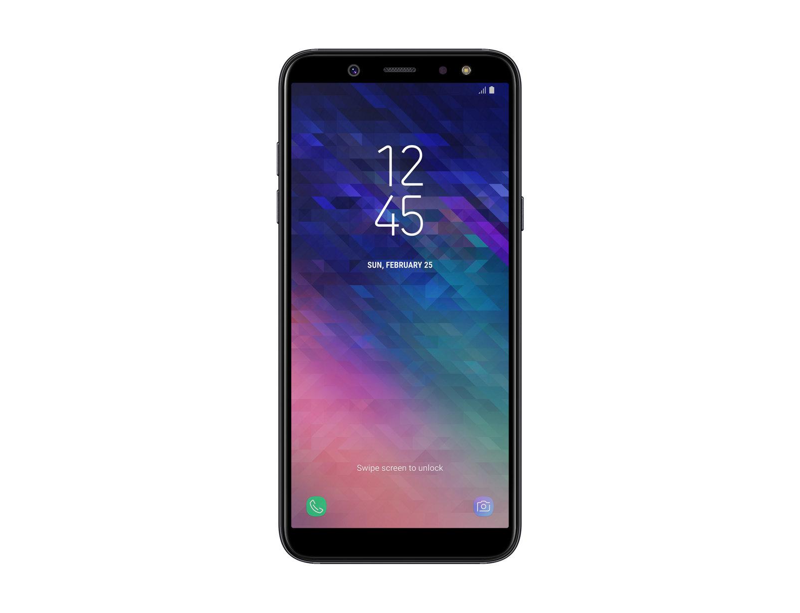 """Samsung Galaxy A6 SM-A600FN 5.6"""" Single SIM 4G 3GB 32GB 3000mAh Black SM-A600FZKIBTU"""