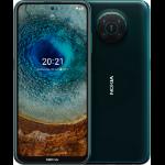 "Nokia X10 16.9 cm (6.67"") Dual SIM Android 11 5G USB Type-C 6 GB 64 GB 4470 mAh Green 101SCARLH018"