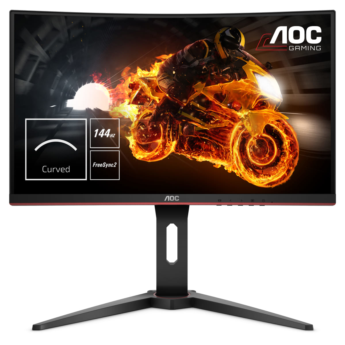 "AOC Gaming C27G1 LED display 68.6 cm (27"") Full HD Curved Black"