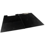 Rapesco Foldover Clipboard personal organizer PVC Black