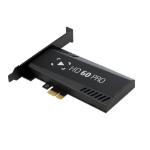 Elgato Game Capture HD60 Pro video capturing device Internal PCIe