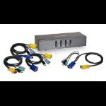 iogear GCS1724 KVM switch Black
