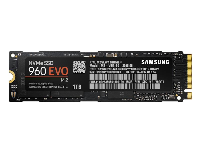 SSD - 960 Evo Series - 1TB - M.2 - Pci-e